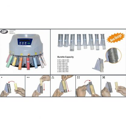 Coin Packing-tubes Kit for Coin Counter CDP-BJ18
