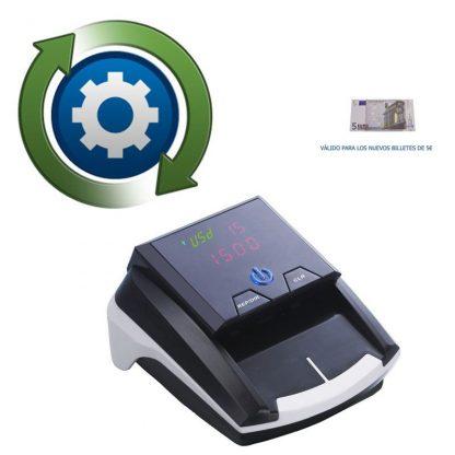 Actualización Detector de Billetes DP2268